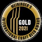 Meinigers International Craft Beer Award Gold 2021